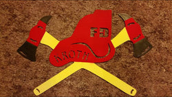 Fire Dept. Emblem With Name
