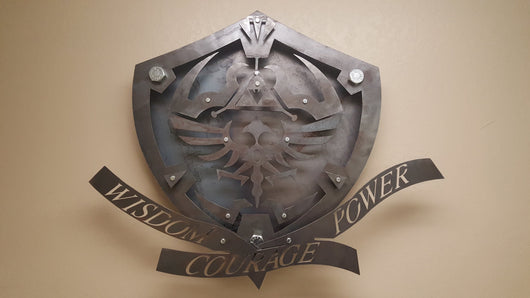 Link's Shield 3D from Zelda