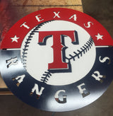 Texas Rangers Circle with T logo