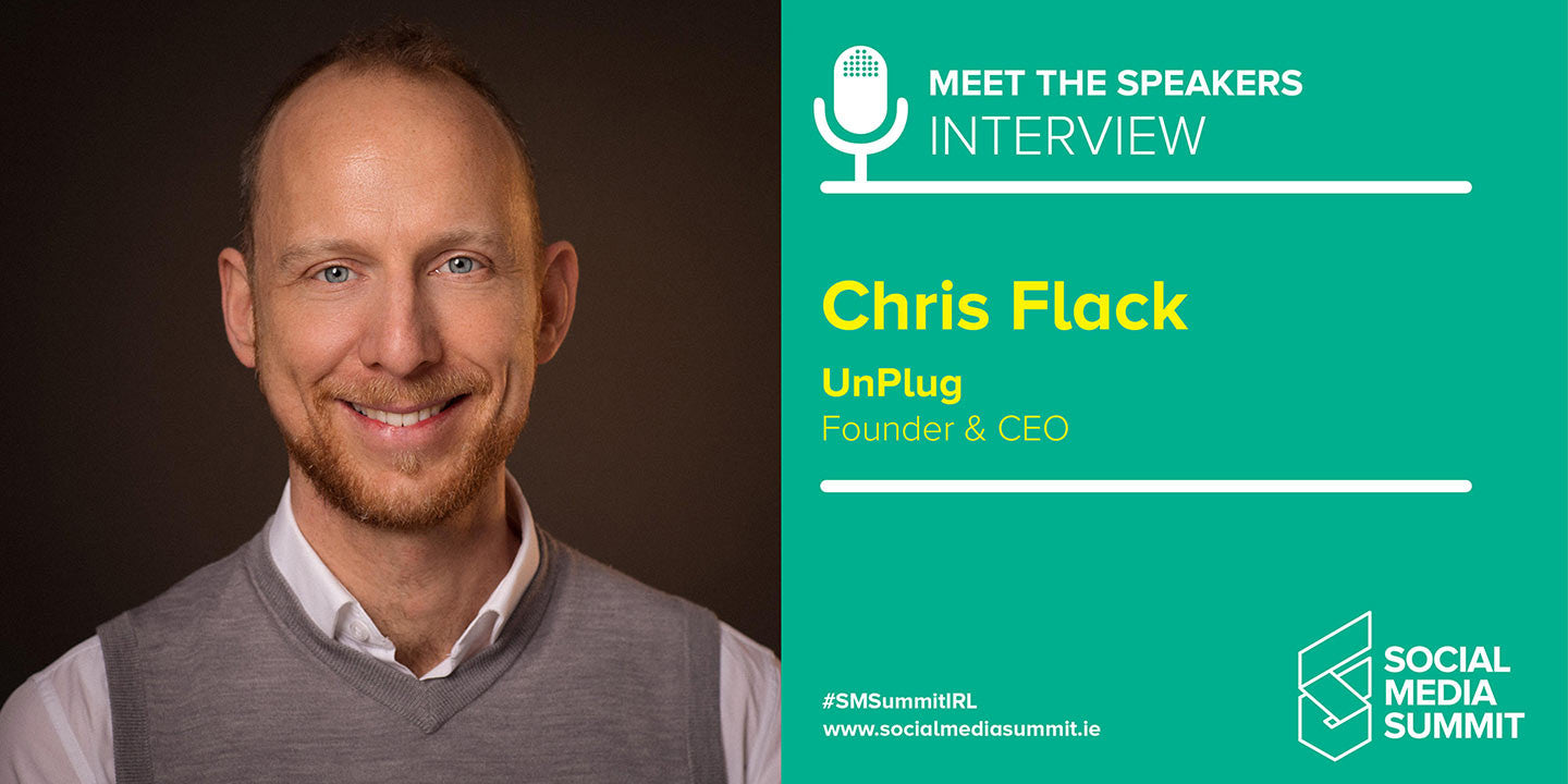 Meet the speakers - Chris Flack from UnPlug