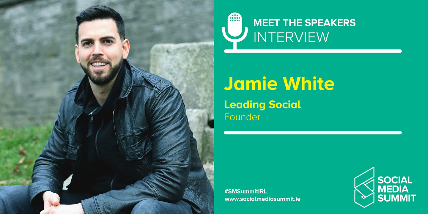 Meet the speakers - Jamie White from Leading Social