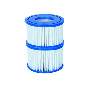 Filter Cartridge VI for Lay-Z-Spa Miami, Vegas, Monaco 1 x Twin Pack