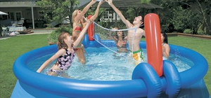 Bestway 12ft Fast Set Pool With Volleyball Net