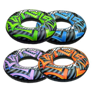 "Inflatable 47"" Extreme Turbo TYRE Swim Ring"