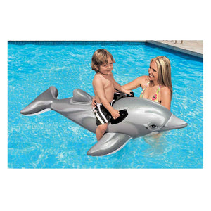 "INTEX 69"" x 26"" Lil' Dolphin Ride-On Inflatable"