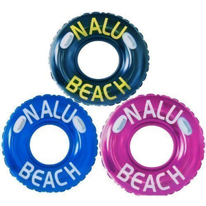 "Nalu 42"" Turbo Swim Ring Inflatable Tube With 2 Handles - 1 Supplied"