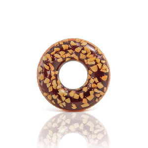 Intex Inflatable Giant Donut Nutty Chocolate Swim Ring 45""