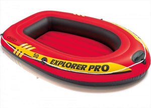 "Intex Explorer Pro 50 Inflatable Boat 54"" x 33"" x 9"""