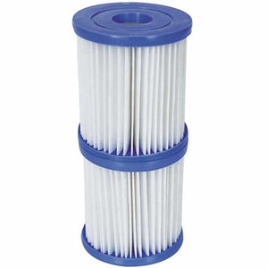 "Bestway Pool Filter Cartridge I (3.2"" x 3.5"") Twin Pack"