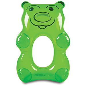Bigmouth Inc - Giant Gummy Bear Pool Float (Green)