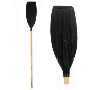 120cm Wood Shaft Plastic Blade Oar - One Supplied