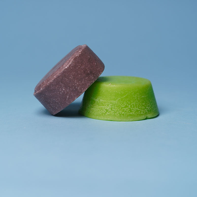 shampoo and conditioner bars