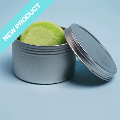tin container for soap