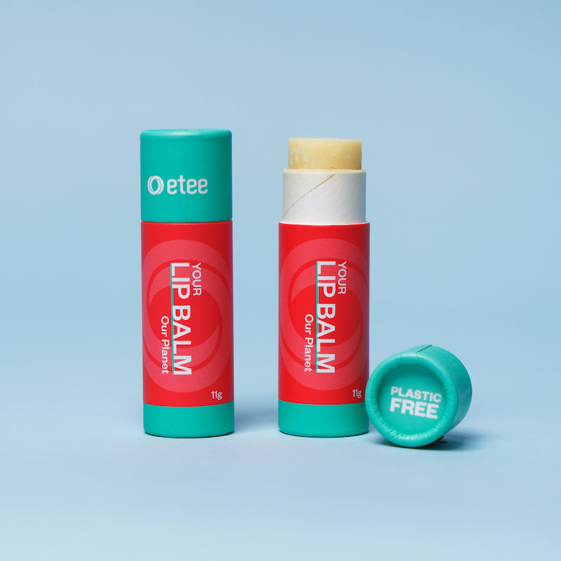 lip balm in a tube