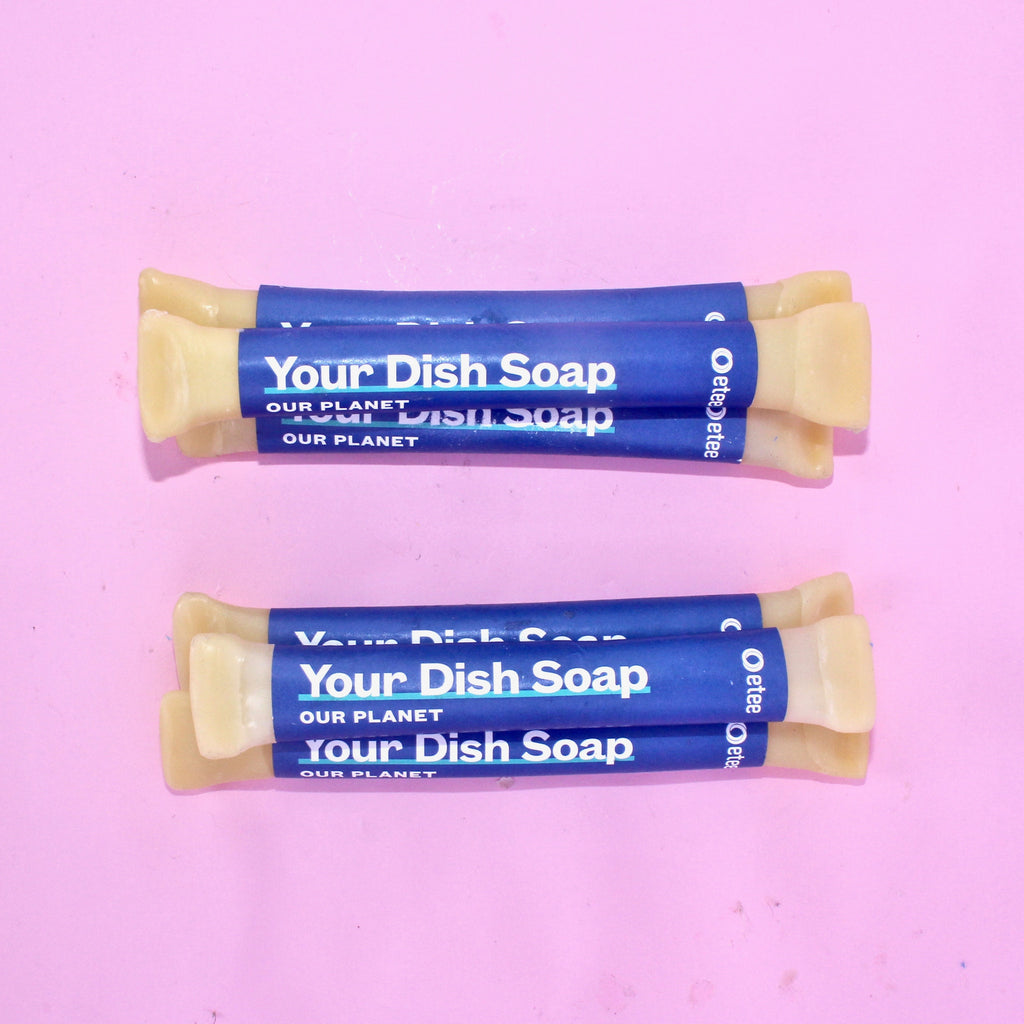 Plastic-Free Liquid Dish Soap Concentrate