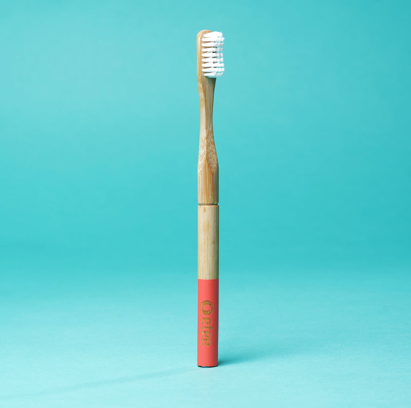 Bamboo Toothbrush with Replaceable Head