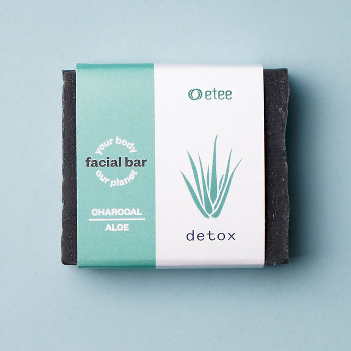 Facial Cleansing Bar - Charcoal & Aloe