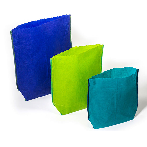 Food Bags - Groups Pack | 3 small, 3 medium, 3 large | Hand Made in Toronto