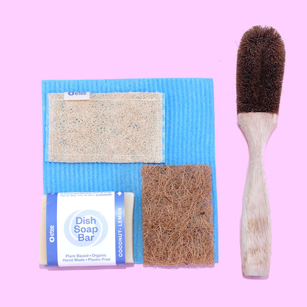 Dish Soap Bar Deluxe Cleaning Kit