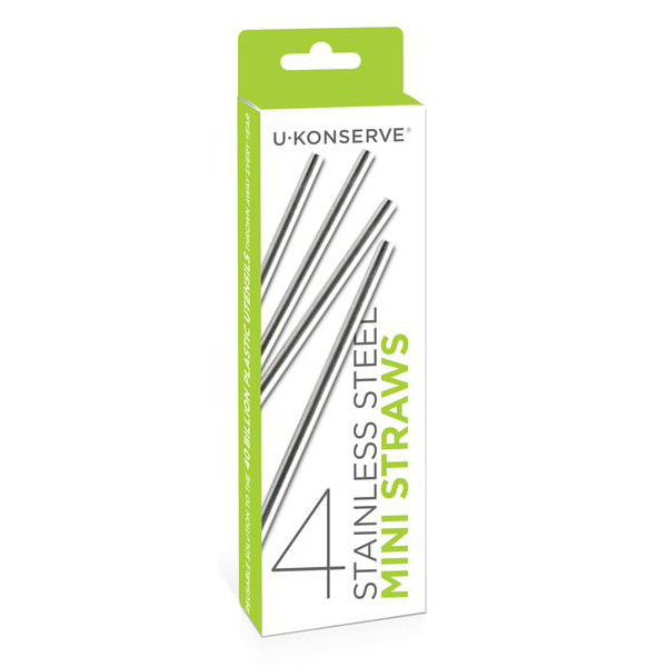 U Konserve Stainless Steel Straws & Containers