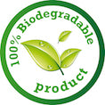 100% Biodegradable Product