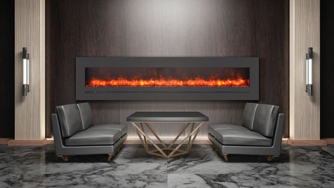 "Sierra Flame 88"" Electric fireplace"