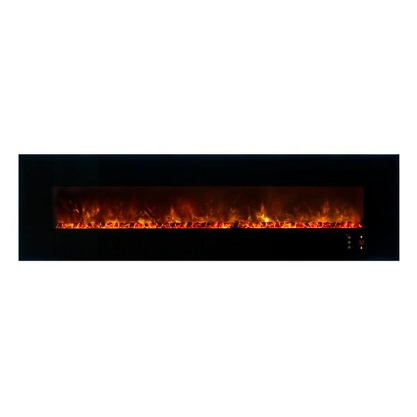 "Modern Flames Ambiance 100"" Built-in/Wall Mount Electric Fireplace (AL100CLX2) - Electric Fireplace Shop"