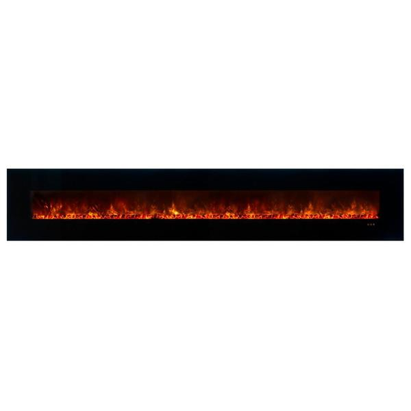 "Modern Flames CLX-2 144"" Built-in/Wall Mount Electric Fireplace (AL144CLX2) - Electric Fireplace Shop"