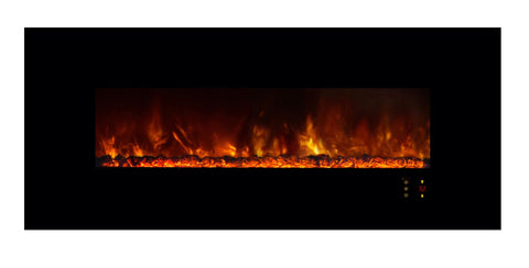 "Image of Modern Flames Ambiance 60"" Built-in/Wall Mount Electric Fireplace (AL60CLX2) - Electric Fireplace Shop"