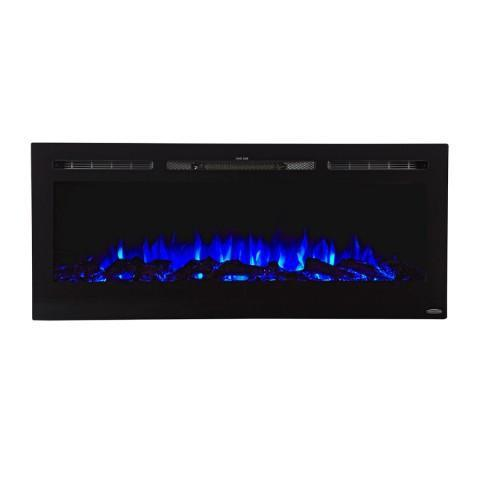 "Touchstone Sideline 50"" Recessed Electric Fireplace (#80004) - Electric Fireplace Shop"