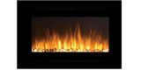 "Touchstone Forte 40"" Recessed/Wall Mounted Electric Fireplace (#80006) - Electric Fireplace Shop"