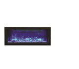 "Amantii 40"" Indoor/Outdoor Built-In Electric Fireplace (BI-40-DEEP) - Electric Fireplace Shop"