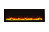 "Amantii 50"" Panorama Series Built-In Electric Fireplace (BI-50-SLIM-OD) - Electric Fireplace Shop"