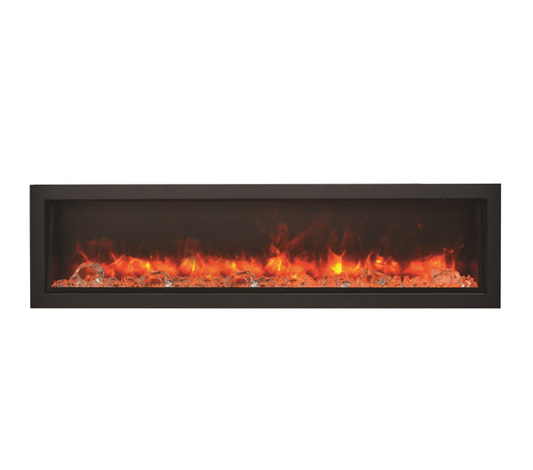 "Amantii 60"" Panorama Series Indoor/Outdoor Built-In Electric Fireplace (BI-60-DEEP) - Electric Fireplace Shop"
