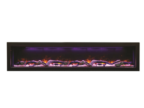 "Image of Amantii 72"" Panorama Series Indoor/Outdoor Built-In Electric Fireplace (BI-72-DEEP) - Electric Fireplace Shop"
