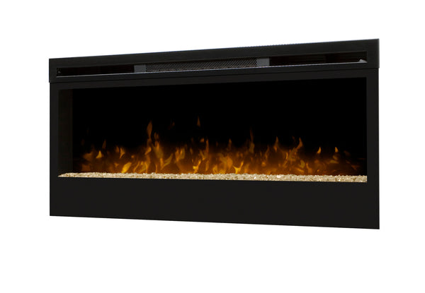 "Dimplex Synergy 50"" Wall Mounted/Built In Linear Electric Fireplace - Electric Fireplace Shop"