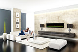 "Dimplex Prism Series 74"" Linear Electric Fireplace - Electric Fireplace Shop"
