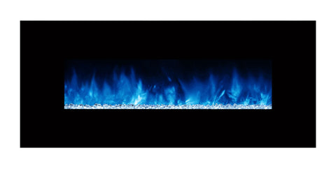 "Modern Flames Ambiance 80"" Built-in/Wall Mount Electric Fireplace (AL80CLX2) - Electric Fireplace Shop"