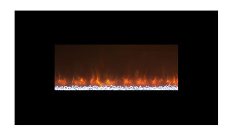 "Modern Flames 45"" Built-in/Wall Mount Electric Fireplace (AL45CLX2) - Electric Fireplace Shop"