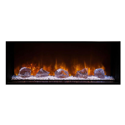 "Modern Flames 60"" FullView Built-In Electric Fireplace (LFV2-6015-SH) - Electric Fireplace Shop"