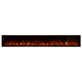 "Modern Flames 100"" FullView Built-In Electric Fireplace (LFV2-10015-SH) - Electric Fireplace Shop"