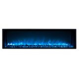 "Modern Flames 80"" FullView Built-In Electric Fireplace (LFV2-8015-SH) - Electric Fireplace Shop"