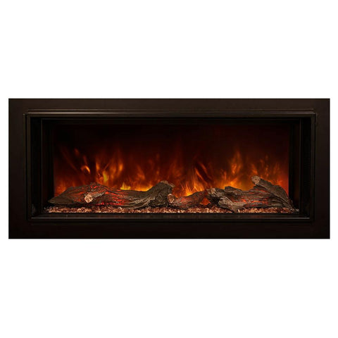"Image of Modern Flames 120"" FullView Built-In Electric Fireplace (LFV2-12015-SH) - Electric Fireplace Shop"
