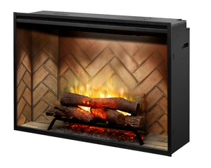 "Dimplex Revillusion 42"" Built In Electric Firebox (RBF42) - Electric Fireplace Shop"