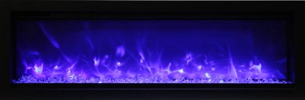 "Amantii 50"" SYMMETRY B Series Built-In Electric Fireplace (SYM-50-B) - Electric Fireplace Shop"
