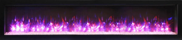 "Amantii 74"" SYMMETRY B Series Built-In Electric Fireplace (SYM-74-B) - Electric Fireplace Shop"