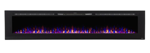 "Touchstone Sideline 100"" Recessed Electric Fireplace (#80032) - Electric Fireplace Shop"