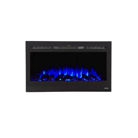 "Touchstone Sideline 36"" Recessed Electric Fireplace (80014) - Electric Fireplace Shop"