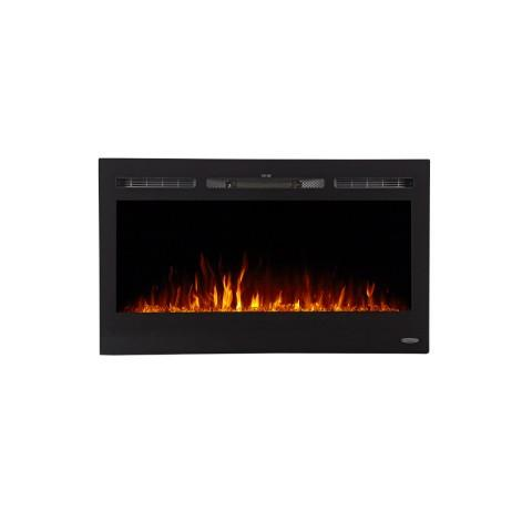 "Image of Touchstone Sideline 36"" Recessed Electric Fireplace (80014) - Electric Fireplace Shop"