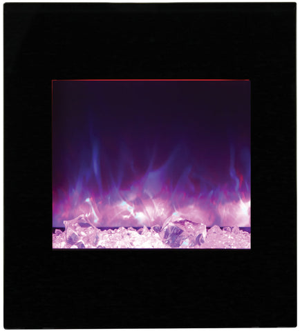 "Image of Amantii 24"" Wall Mount or Built-In Electric Fireplace - Electric Fireplace Shop"